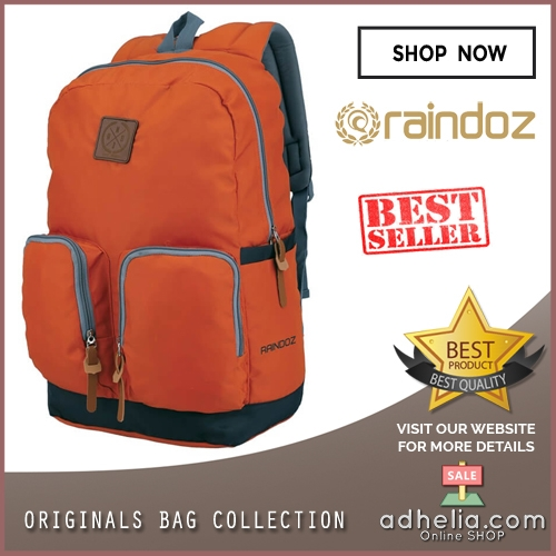 Tas Ransel / Backpack Casual Unisex Pria Wanita - RZR 023
