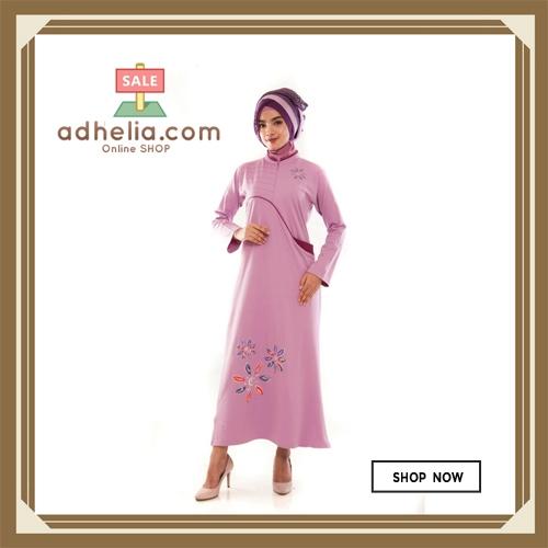 Gamis Wanita / Tunik Panjang / Busana Muslim Wanita - G 31