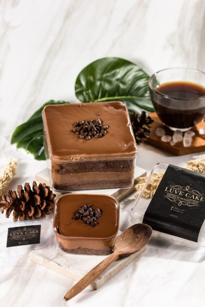 Dessert Box Luve Cake - Belgian Chocho Delight