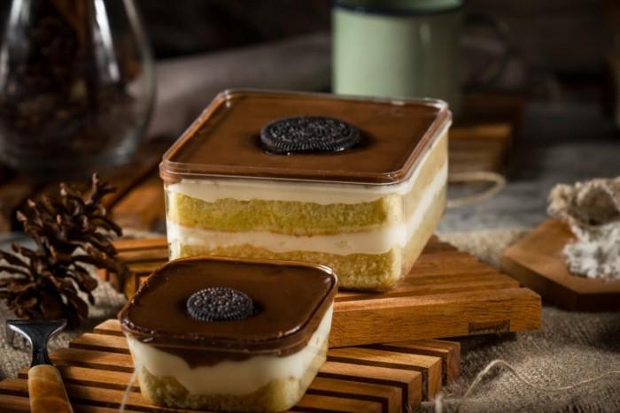 Dessert Box Luve Cake - Choco Cheese Oreo