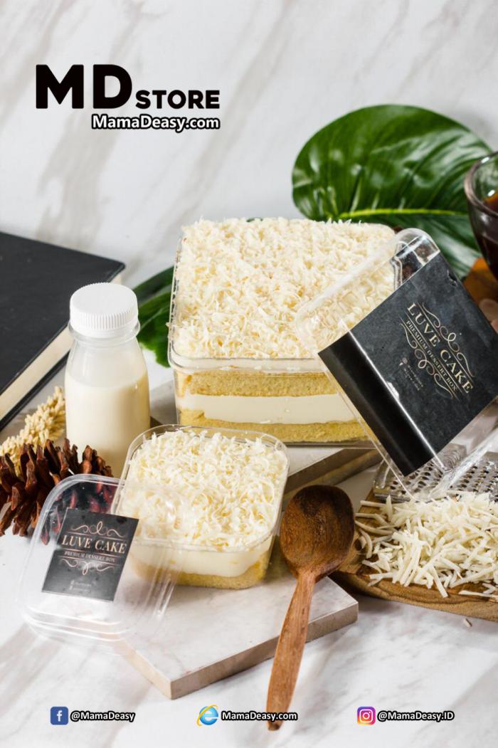 Dessert Box Luve Cake - Milk Bath Cheese
