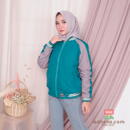 Jaket Boomber Bolak-Balik / Jaket Parasut Premium Tosca