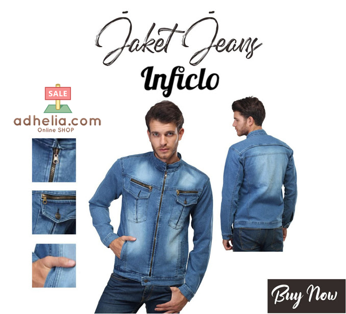 Jaket Pria / Jaket Jeans Pria / Jaket Premium Pria - SPI 436