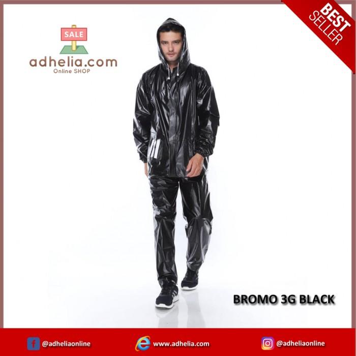 Jas Hujan Bromo 3G - BROMO 3G BLACK