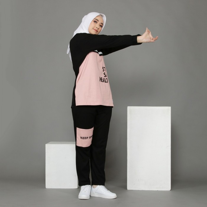 Pakaian Wanita / Katun Combed 20s One Set - Vira Set
