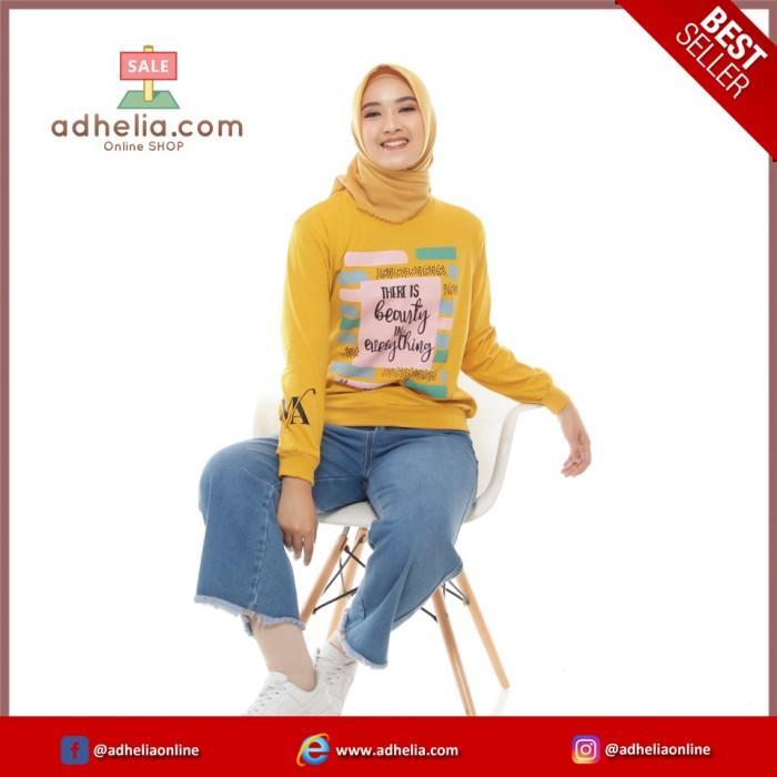 Sweater Wanita Premium - Yellow Top