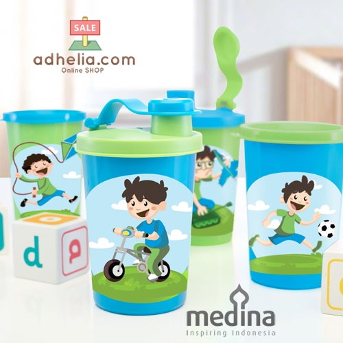 Adia Boys Tumbler Set (Set of 4)