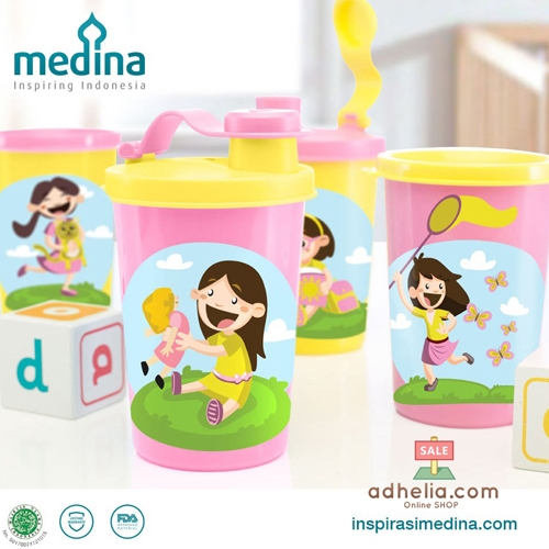 Adia Girls Tumbler Set (Set of 4)