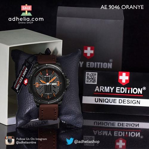 Jam Tangan Army Edition 9046 Oranye