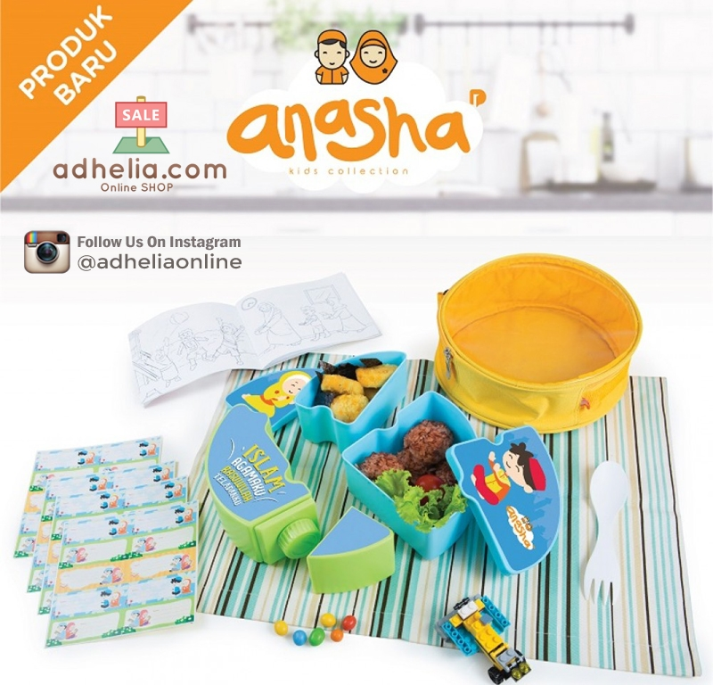 Anasha Faeyza Puzzle Lunch Set