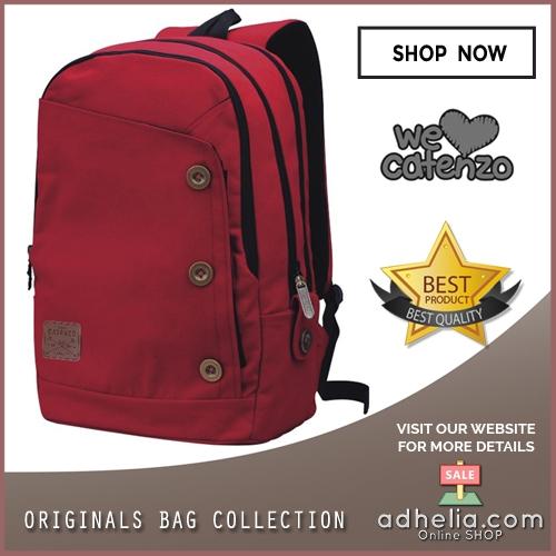 Tas Ransel Laptop / Backpack Casual Unisex Pria Wanita - ST 033