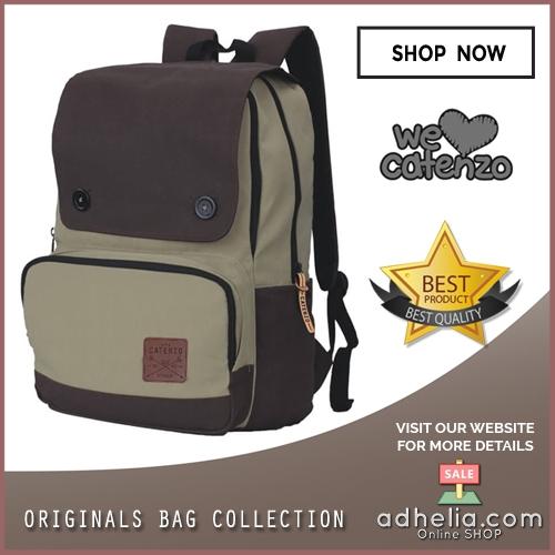 Tas Ransel Laptop / Backpack Casual Unisex Pria Wanita - YD 029