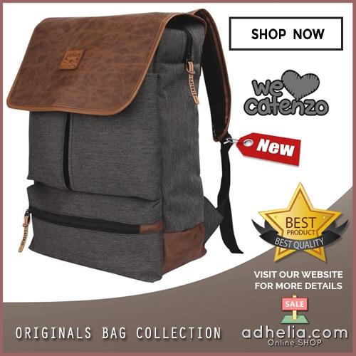 Tas Ransel Laptop / Backpack Casual Unisex Pria Wanita - YD 036