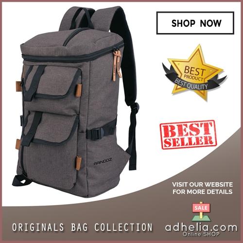 Tas Ransel / Backpack Casual Vintage Pria - RMB 015
