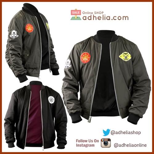 Jaket Bomber / Sweater Bolak Balik Premium - BOM 002