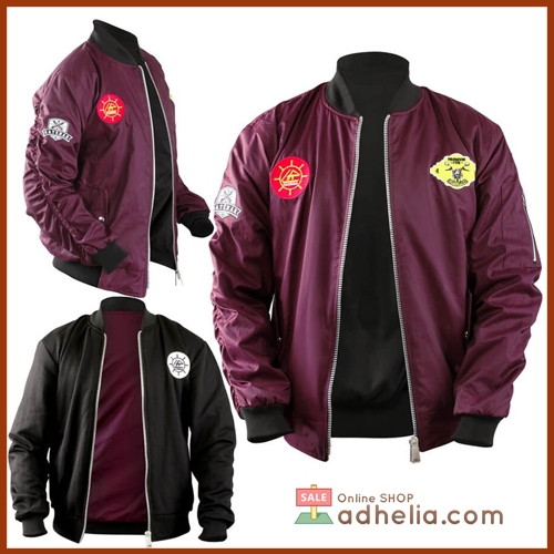 Jaket Bomber / Sweater Bolak Balik Premium - BOM 005