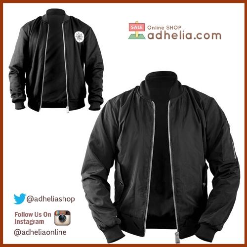 Jaket Bomber / Sweater Bolak Balik Premium - BOM 007