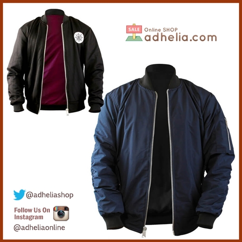 Jaket Bomber / Sweater Bolak Balik Premium - BOM 010