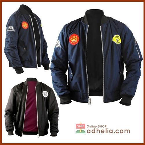 Jaket Bomber / Sweater Bolak Balik Premium - BOM 011