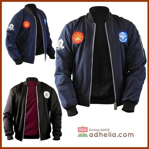 Jaket Bomber / Sweater Bolak Balik Premium - BOM 012