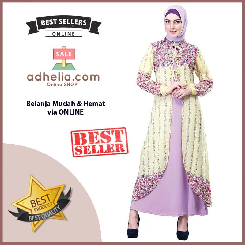 Gamis / Busana Muslim Wanita - SHJ 037
