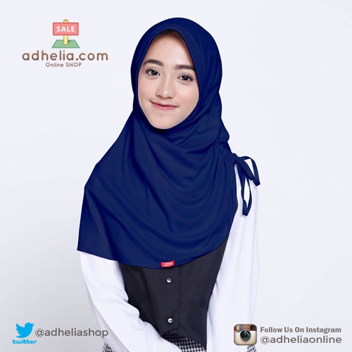 Kerudung Anak / Kerudung Sekolah ZOYA / Bergo / Hijab Instan Medium - CERMATMIDI