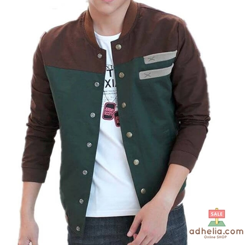Jaket Baseball / Sweater Pria Cotton Drill Premium - DRB 01