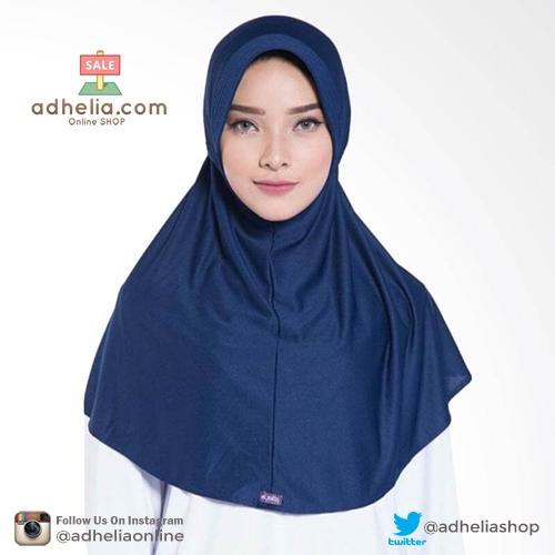 Elzatta Hijab / Hijab / Hijab Instan / Bergo / Elzatta Basic / E001 NAVY
