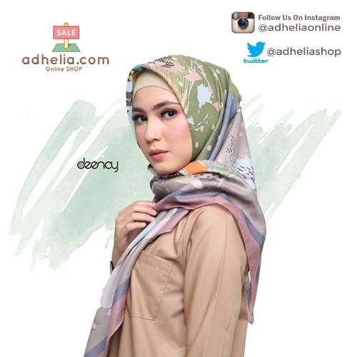 Hijab Printing / Jilbab Segi Empat Deenay - ELDA