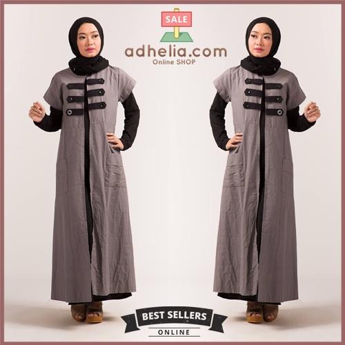 Long Dress / Gamis Muslimah Wanita - GRN 9014