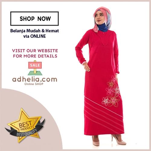 Gamis Wanita / Tunik Panjang / Busana Muslim Wanita - G 26