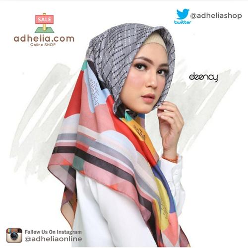 Hijab Printing / Jilbab Segi Empat Deenay - GEMMA