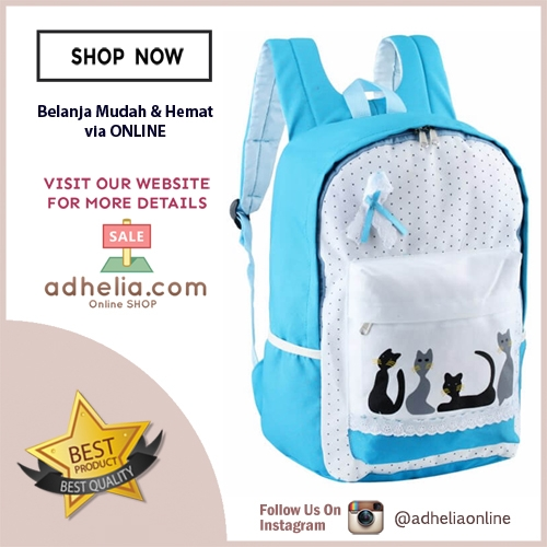Girl Backpack Tas Ransel Sekolah Anak Perempuan - GF.5710