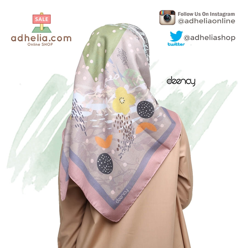 Jilbab Segi Empat Deenay - ELDA