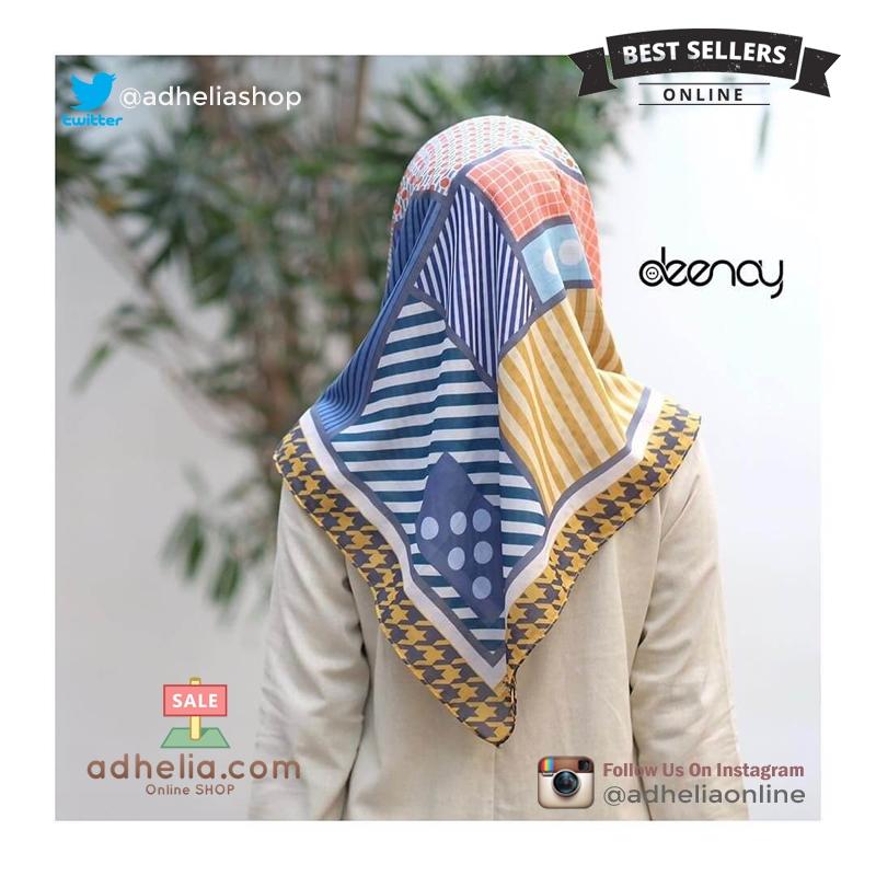 Jilbab Segi Empat Deenay Original - AFIYA