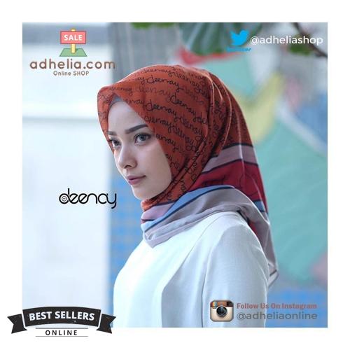 Hijab Printing / Jilbab Segi Empat Deenay - IZORA
