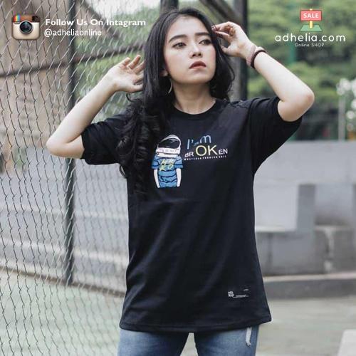 Kaos Distro Pria / Wanita Tshirt MRKO Bandung - MRKO 004