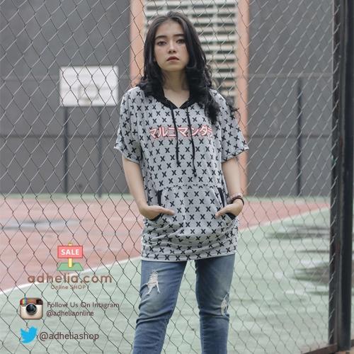 Kaos Hoodie Pria / Wanita Distro MRKO Bandung - MRKO 023