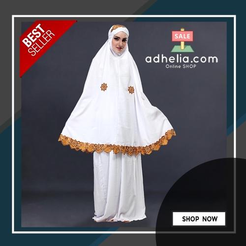 Mukena Muslimah Wanita Katun - SLS 304