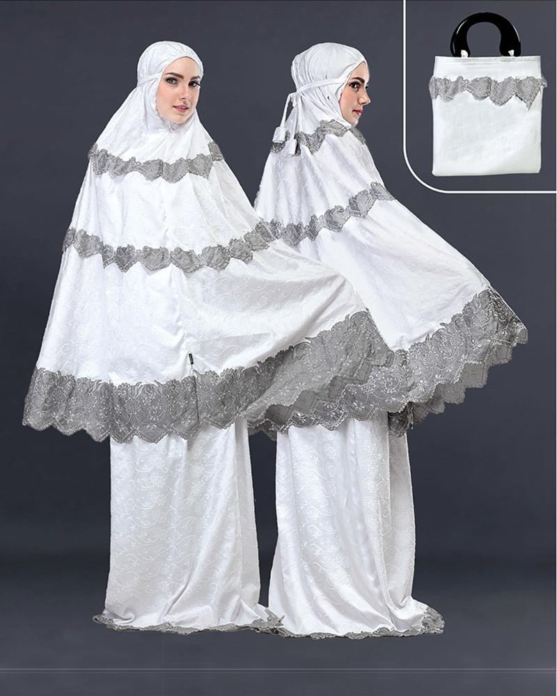 Mukena Muslimah Wanita Katun - SLS 547