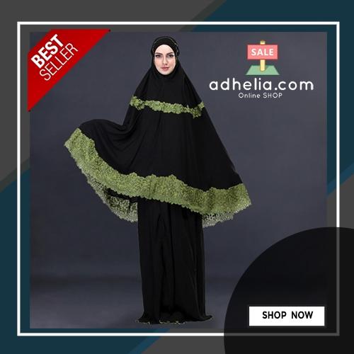Mukena Muslimah Wanita Katun Rayon - SLS 928