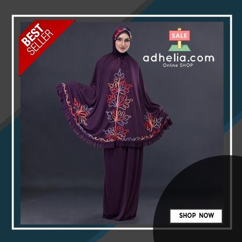 Mukena Muslimah Wanita Spandex - SDA 572