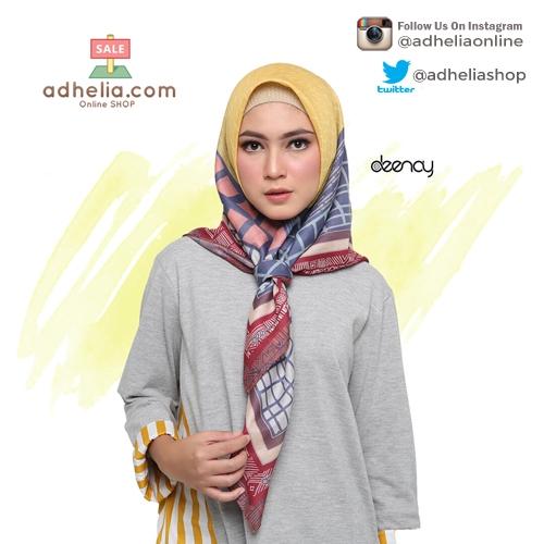 Hijab Printing / Jilbab Segi Empat Deenay - PERLA