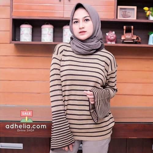 Sweater Wanita / Jaket Rajut Knit / Outer Baju Hangat - ROW 006