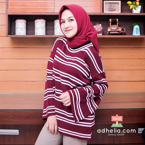 Sweater Wanita / Jaket Rajut Knit / Outer Baju Hangat - ROW 007