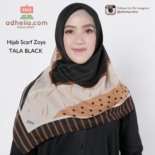 Hijab Scarf Zoya - TALA BLACK