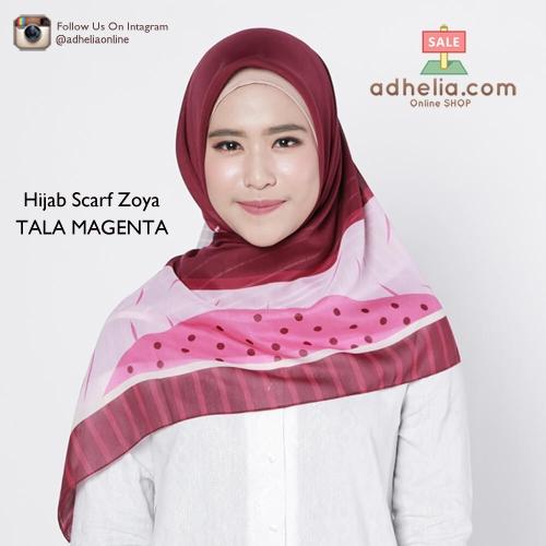 Hijab Scarf Zoya - TALA MAGENTA