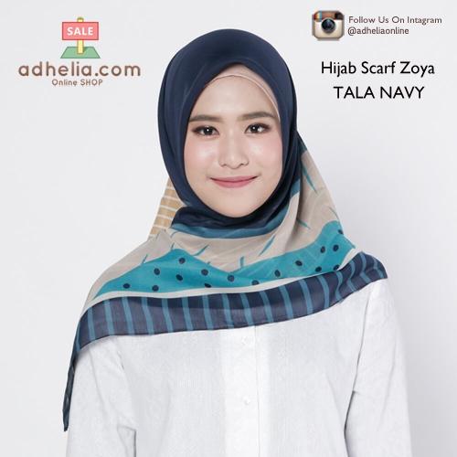 Hijab Scarf Zoya - TALA NAVY