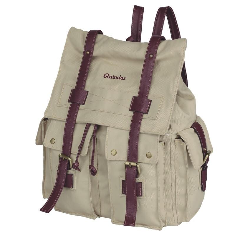 Tas Backpack / Ransel Canvas Wanita - RRH 017