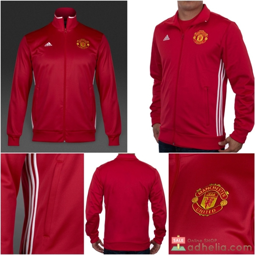 Manchester United 3 Stripes Track Top Jacket 2016/17